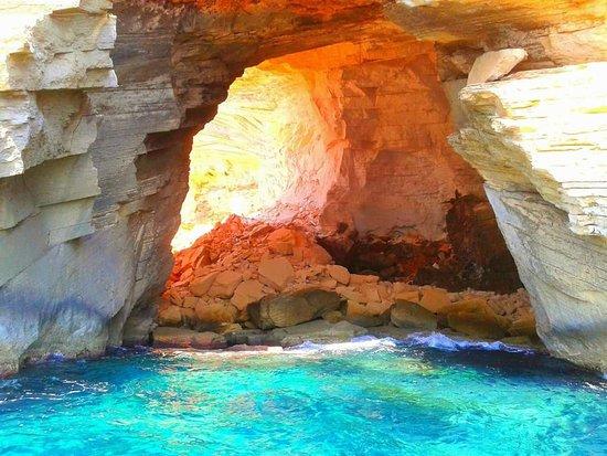 Cala Figuera, Spanien: Visita de formaciones rocosas del litiral