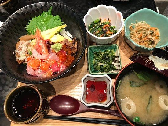 すぎのこ 羽田国際空港店, 海鮮丼定食