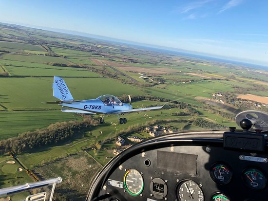 Morpeth, UK: Formation flying
