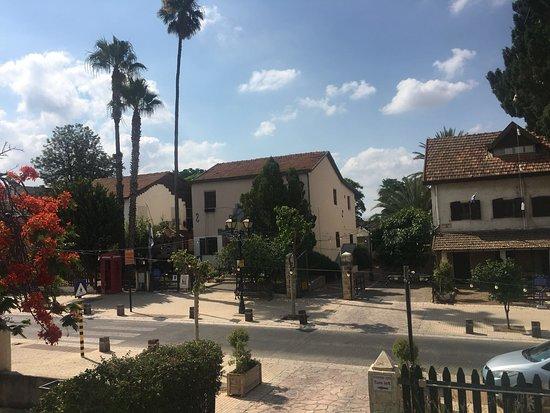 Mazkeret Batya, Israele: הרחוב היפה בו נמצא המלון