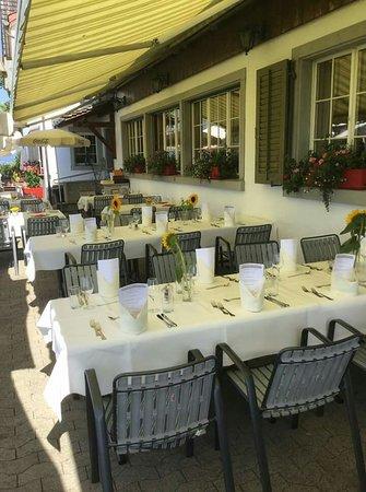 Stafa, Switzerland: Restaurant Frohberg