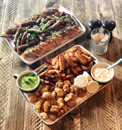 Our Party sharing boards are delicious and perfect for those big bookings