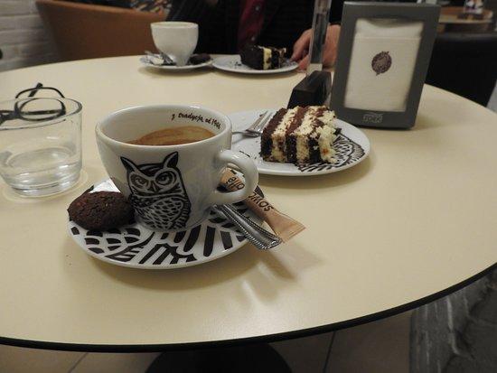 Chojnice, Polônia: Pyszne ciastko