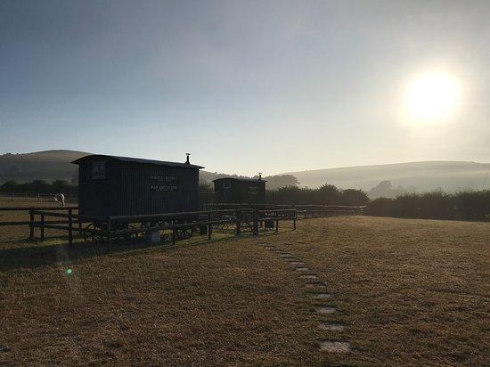 Compton Abbas, UK: Shepherd's huts