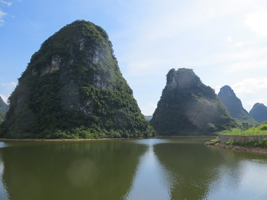 Guangxi, China: Bela natureza!