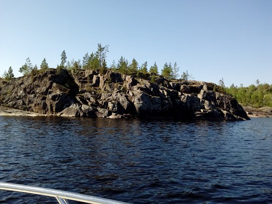 Ladoga Lake, Ρωσία: Северные берега Ладоги.