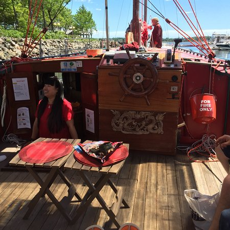 Chinese Junk Boat Tour In...
