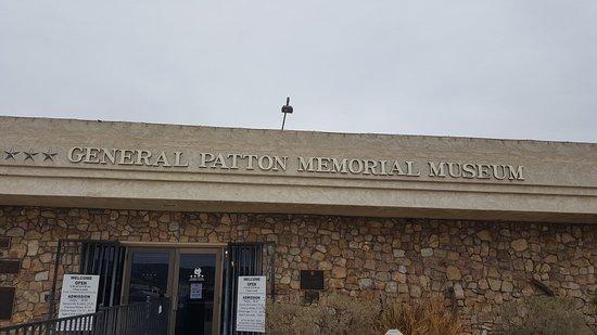 Chiriaco Summit, CA: Museum Entrance