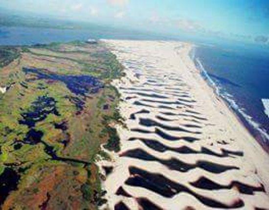 Ilha Grande, PI: Lencois piauienses!!!