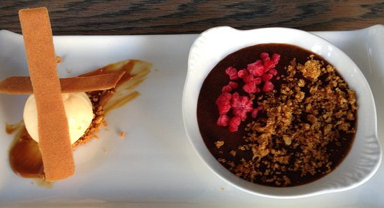 Clayton's Kitchen: Salted Caramel Chocolate Mousse with Coconut Ice Cream