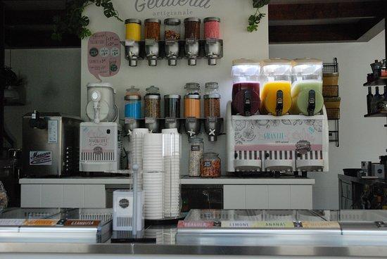 Prosecco, Italy: La gelateria