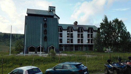 Durmitor National Park, Montenegro: abandoned hotel