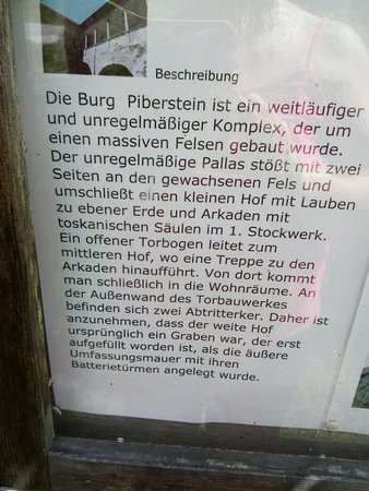 Upper Austria, Austria: Burg Piberstein