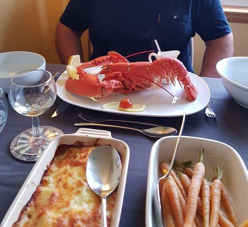 Aird Uig, UK: huge lobster...fabulous