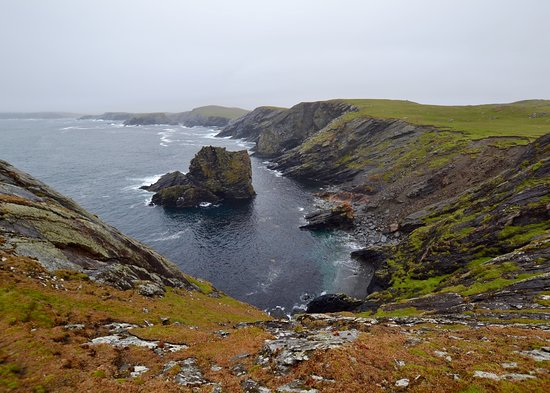 Shetland Islands, UK: Atlantic waves 5