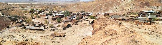 Yermo, CA: Panorama des Minenbereichs