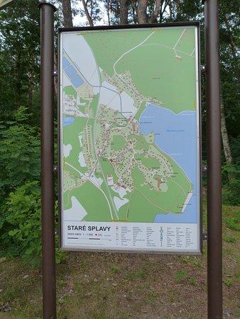 Karte von Stare Splavy