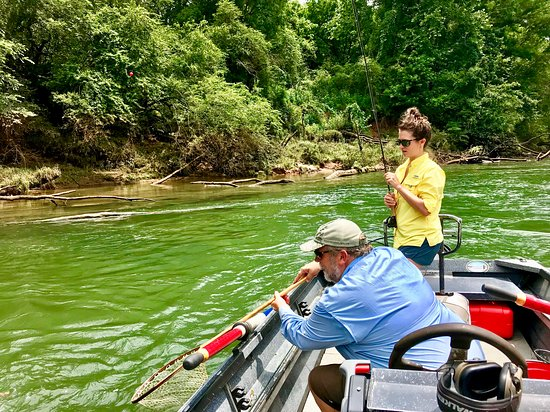 Atlanta, GA: Fly Fishing in a Drift Boat
