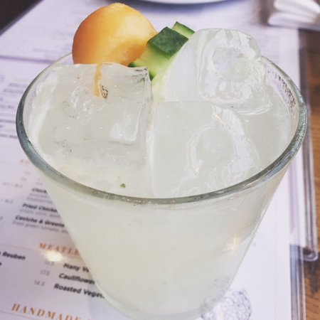 Founding Farmers- Tysons: Cucumber Delight - and it was!