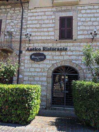 Antico Ristorante Biagetti: Biagetti Antico Restaurante