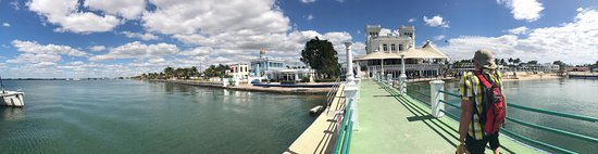 A Pano from the Yacht marina, facing the back of El Club.
