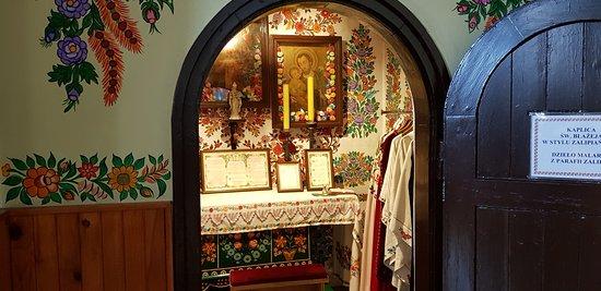 Zalipie, Poland: Kaplica Św. Błażeja