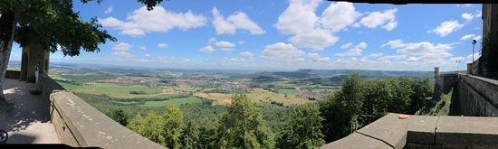 Hechingen, Germany: valley view