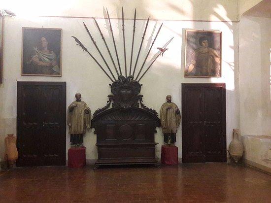 Montechiarugolo, Italia: Stanza interna.