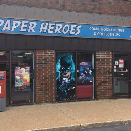Paper Heroes Comic Book Lounge and Collectibles
