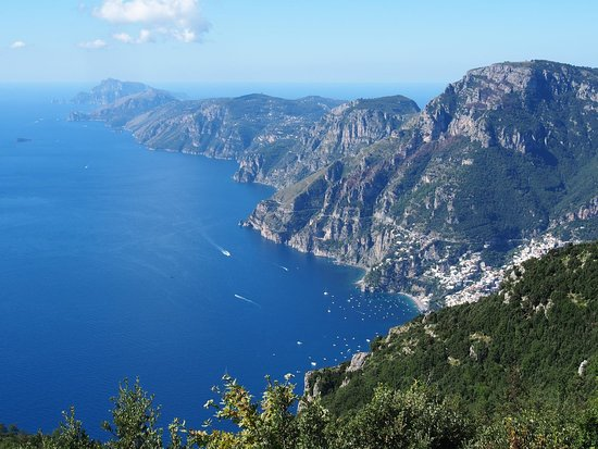 Nocelle, Italy: Gorgeous views with Capri in the background