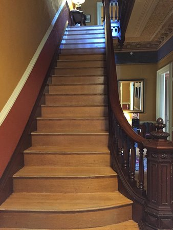 Wrentham, MA: The main staircase