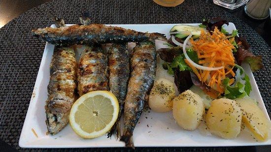 Buonissime sardine, solo un po' salate