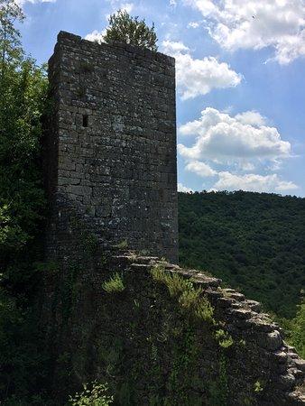 Kanfanar, Croácia: Dvigrad ruins