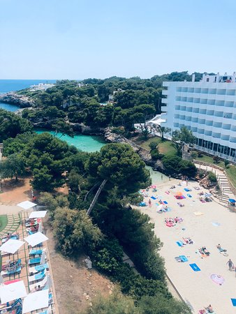 Beautiful clean hotel pool and beach Cove