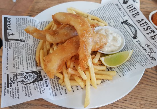 Culburra Beach, Australia: Fish and Chips