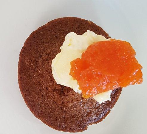 Culburra Beach, Australien: Carrot Cake With Carrot Jam