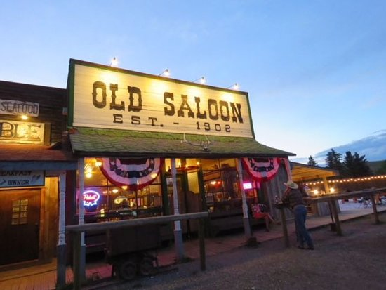 Exterior of Old Saloon