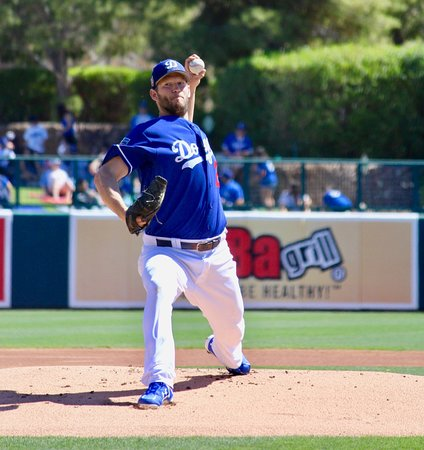 Camelback Ranch: Kershaw on the mound