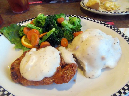 Chicken Fried steak, Black Bear Diner, Fremont, Ca