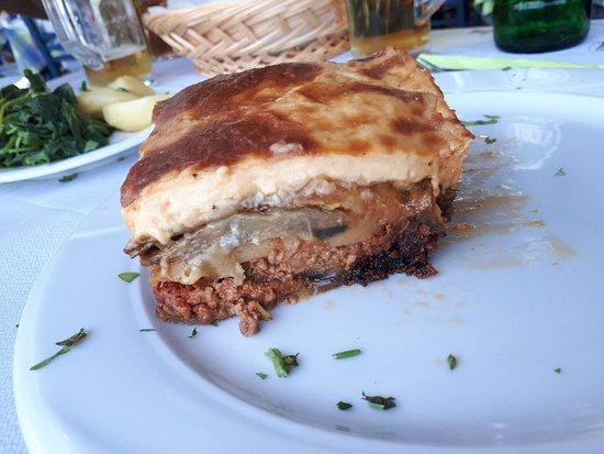 Ottimo cibo greco e vista strepitosa!