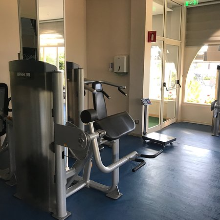 Hermes fitness gym info instructions and photos of equipment