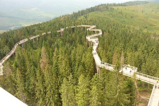 Janske Lazne, Czech Republic: ścieżka