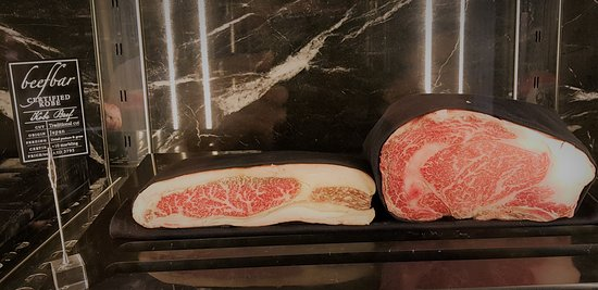 The Certified Japanese KOBE    - Picture of Beefbar Dubai