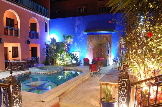 Tamraght, Morocco: Our beautiful riad
