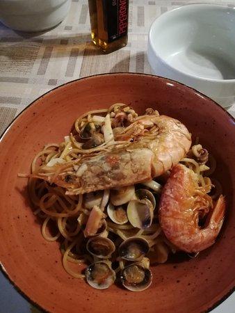 Годиаско, Италия: Spaghetti senza cartoccio
