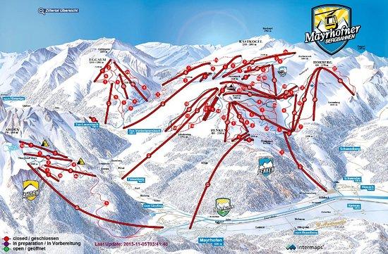 The Apsley Ski Lodge: trasy narciarskie Mayrhofen