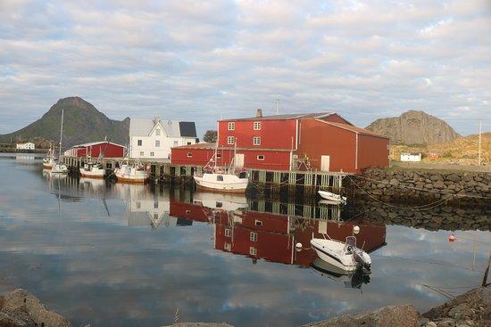 Leknes, Norway: O que se vê...do aldeamento