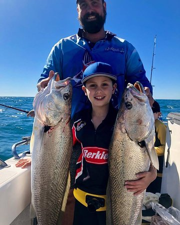 Yamba Fishing and Charters: Father and son day!!🐠 No words can describe 👌🐟🐠proud Riley with his dad John and a couple of