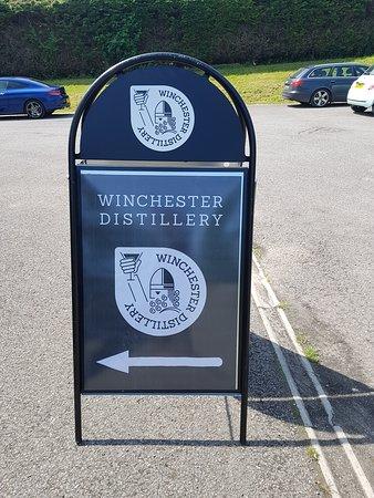 Alresford, UK: Winchester distillery