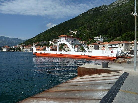 Kamenari, Montenegro: ferry